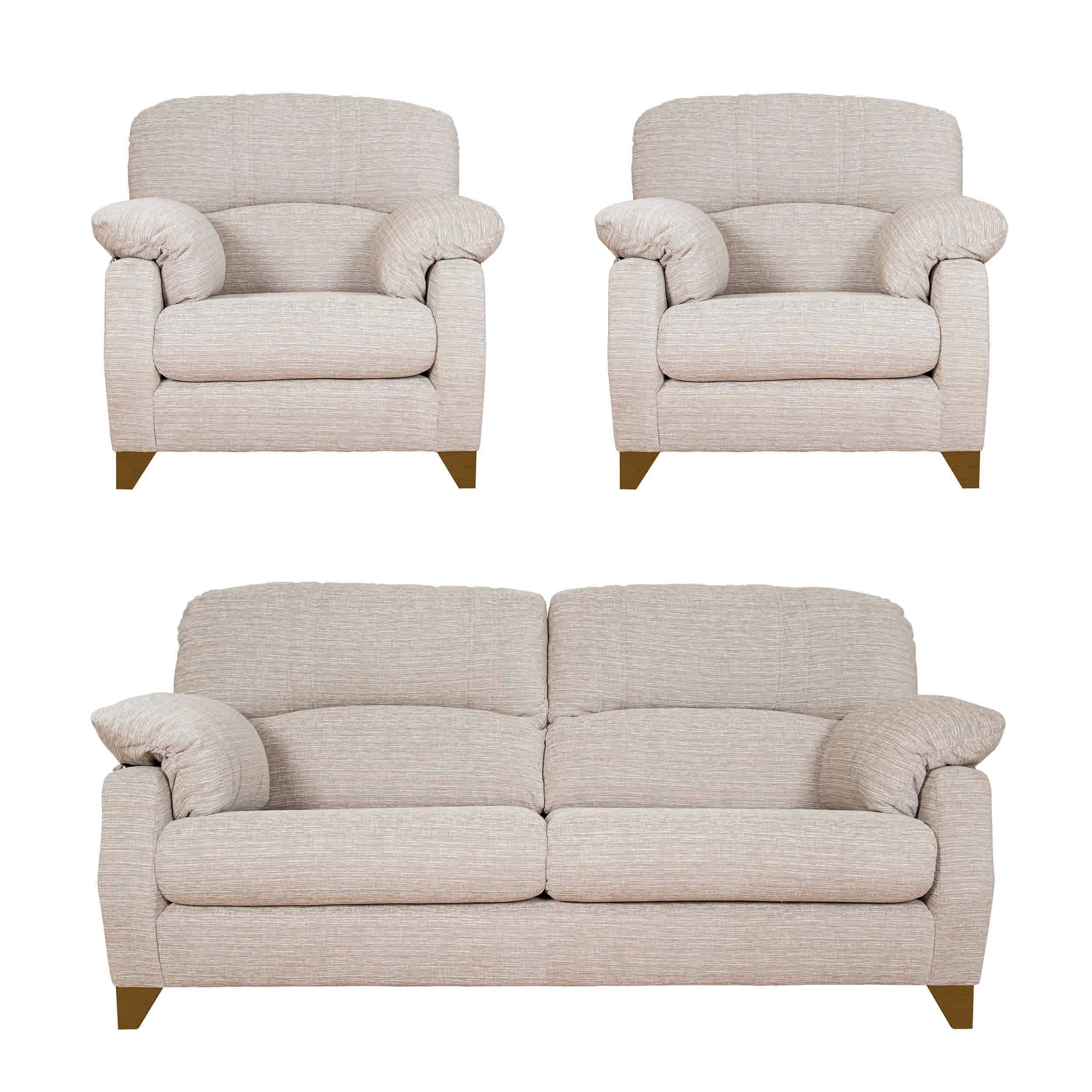 Brayden Studio Elzy 3 Piece Sofa Set