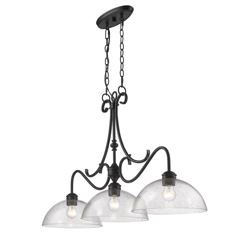 Sheila 3 Light Kitchen Island Pendant Reviews