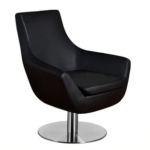 Wade Logan Dakota Swivel Lounge Chair
