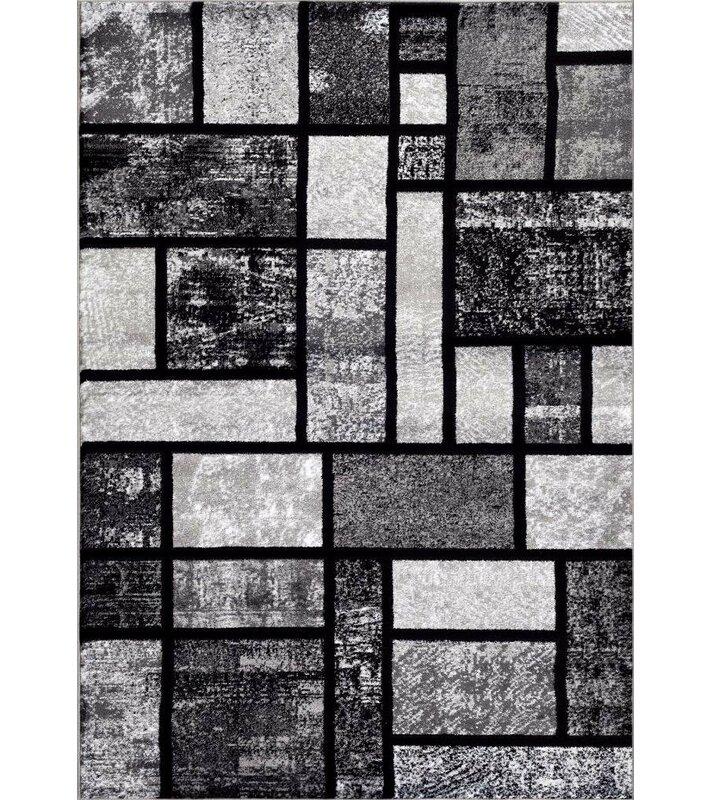 Cretien Modern Gray Area Rug Reviews Allmodern