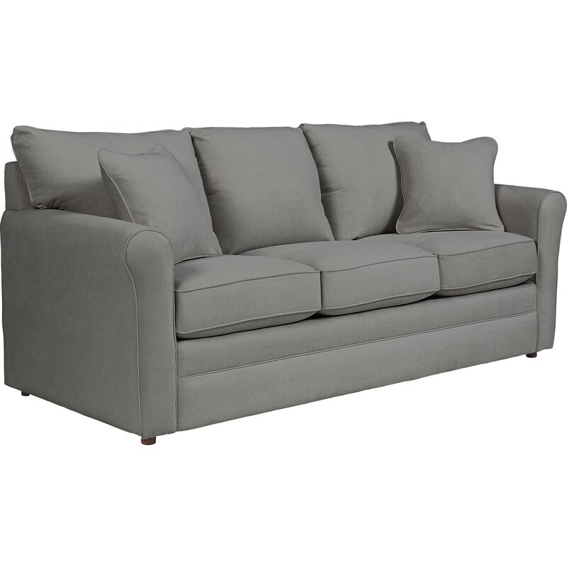 la z boy leah supreme comfort sleeper sofa reviews wayfair rh wayfair com comfy leather sleeper sofa Bassett Sleeper Sofa