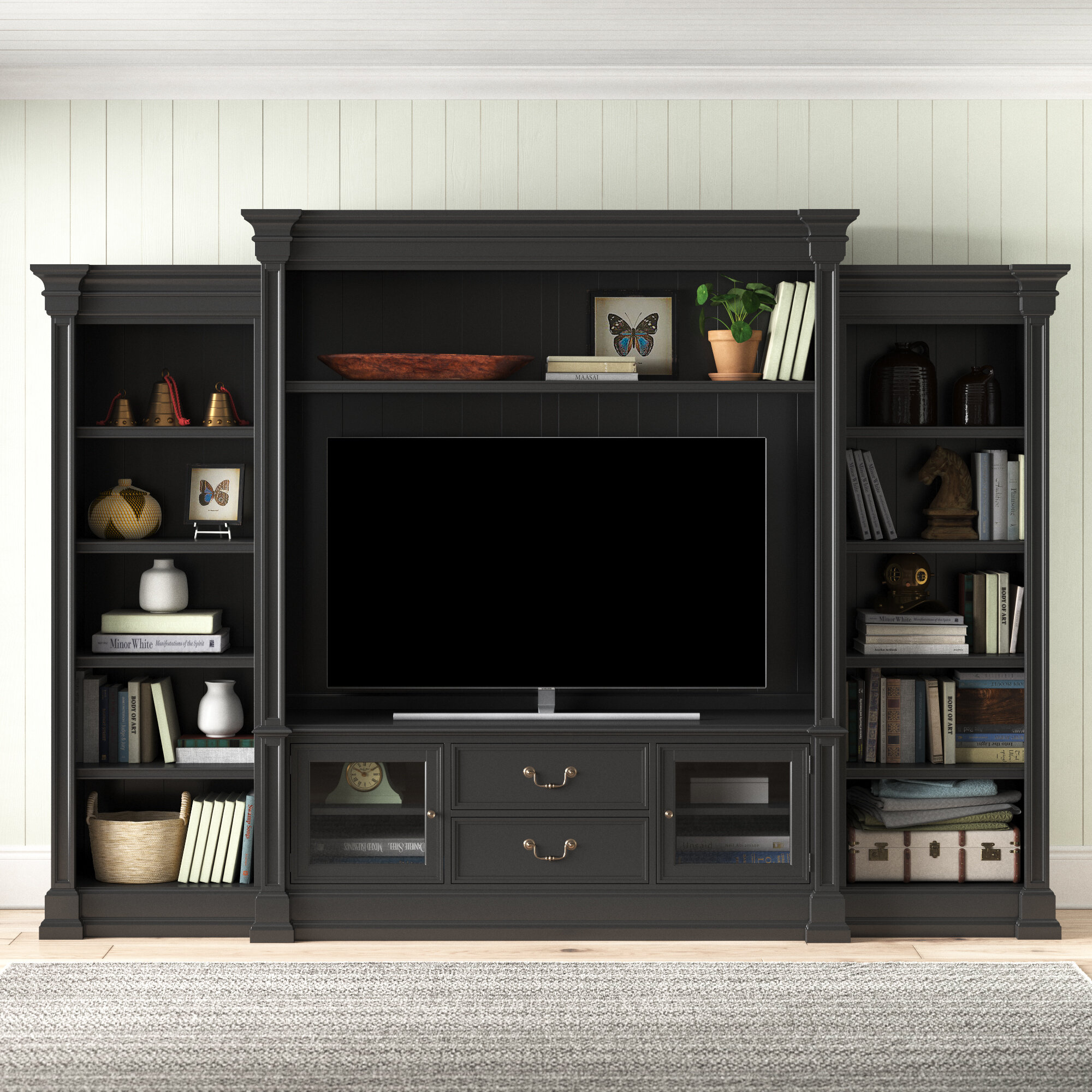 Clermont Entertainment Center For Tvs Up To 70 Reviews