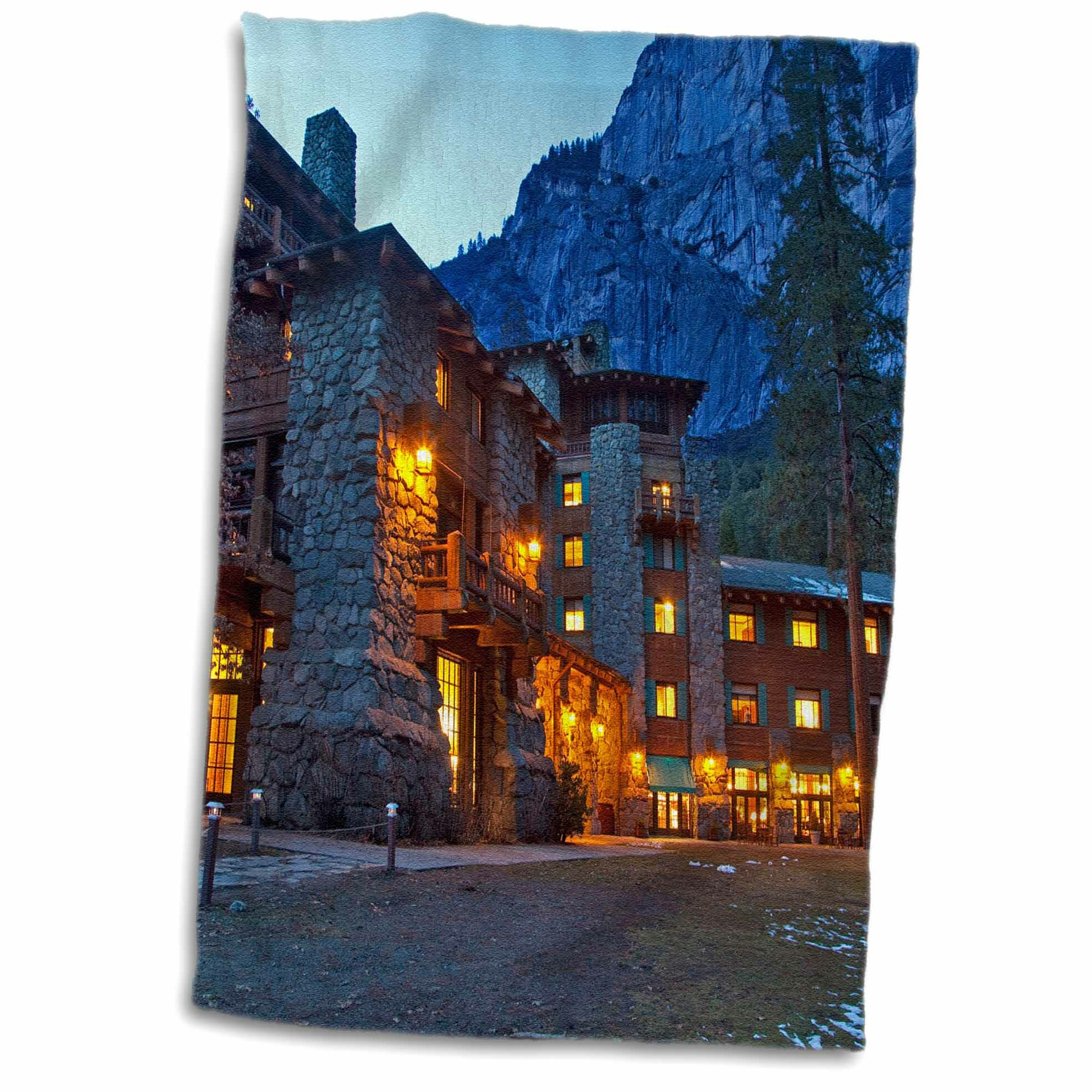Symple Stuff Ahwahnee Lodge Yosemite Np California Chuck Haney Hand Towel Wayfair