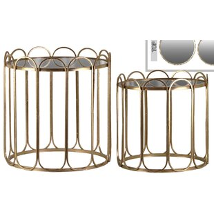 Price comparison Braxton Round 2 Piece Nesting Tables by Mercer41