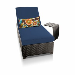 TK Classics Classic 2 Piece Chaise Lounge Set with Cushion