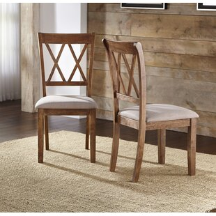 Skyline Upholstered Dining Chair (Set of 2) Ophelia & Co.