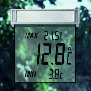 Vision Digital Window Thermometer Image