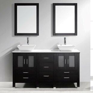 Meubles lavabos doubles