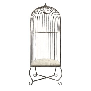 Review Wildes Birdcage Balloon Chair by Ophelia & Co.