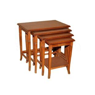 Winport Industries 4 Piece Nesting Tables