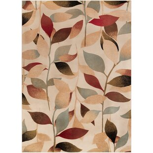 Price comparison Crisman Beige/Red/Brown Area Rug By Charlton Home