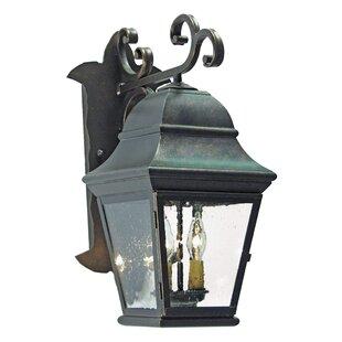 Hagen 2-Light Outdoor Wall Lantern by 2nd..