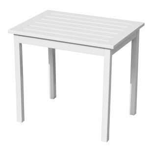 Rajesh Solid Wood Side Table by Gracie Oaks