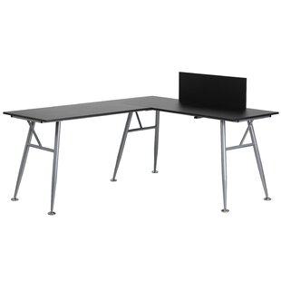 Rawley L-Shape Credenza desk