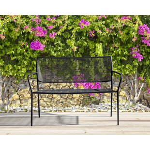 Gardner Steel Bench (Set Of 2) By Bloomsbury Market