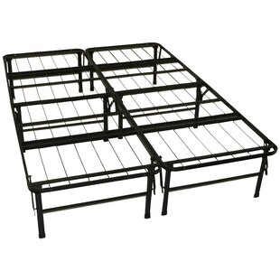 Foundation and Frame-In-One Mattress Support System Platform Bed Frame