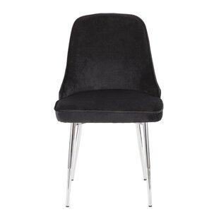 Mercer41 Elim Velvet Upholstered Dining Chair (Set of 2)