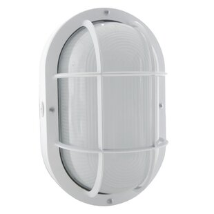 Birger LED Outdoor Bulkhead Light by 17 Stories