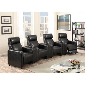 Ketter Home Theater Row Seating (Row of 4) b..