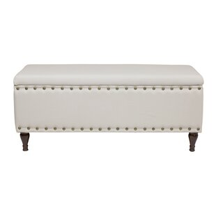 Design Tree Home Upholstered Storage Bench