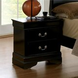 Reay 2 Drawer Nightstand by Charlton Home®