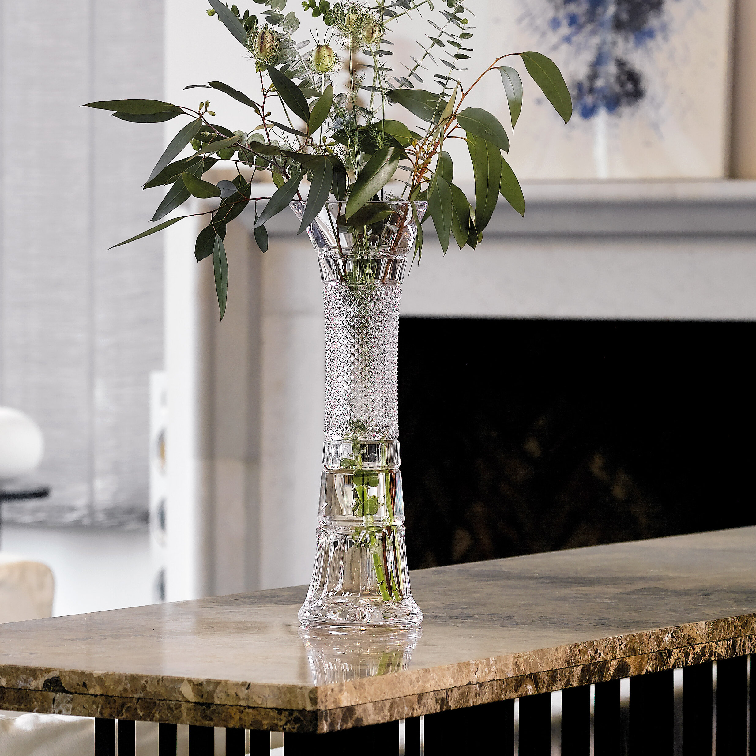 Waterford Clear 16 Crystal Table Vase Wayfair