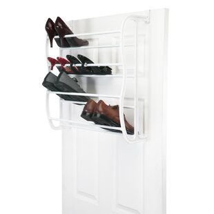 Read Reviews 36 Pair Overdoor Shoe Organizer By Rebrilliant