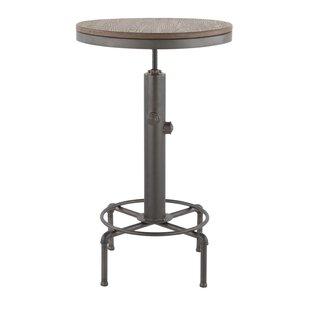 Carmona Adjustable Pub Table by Williston Forge