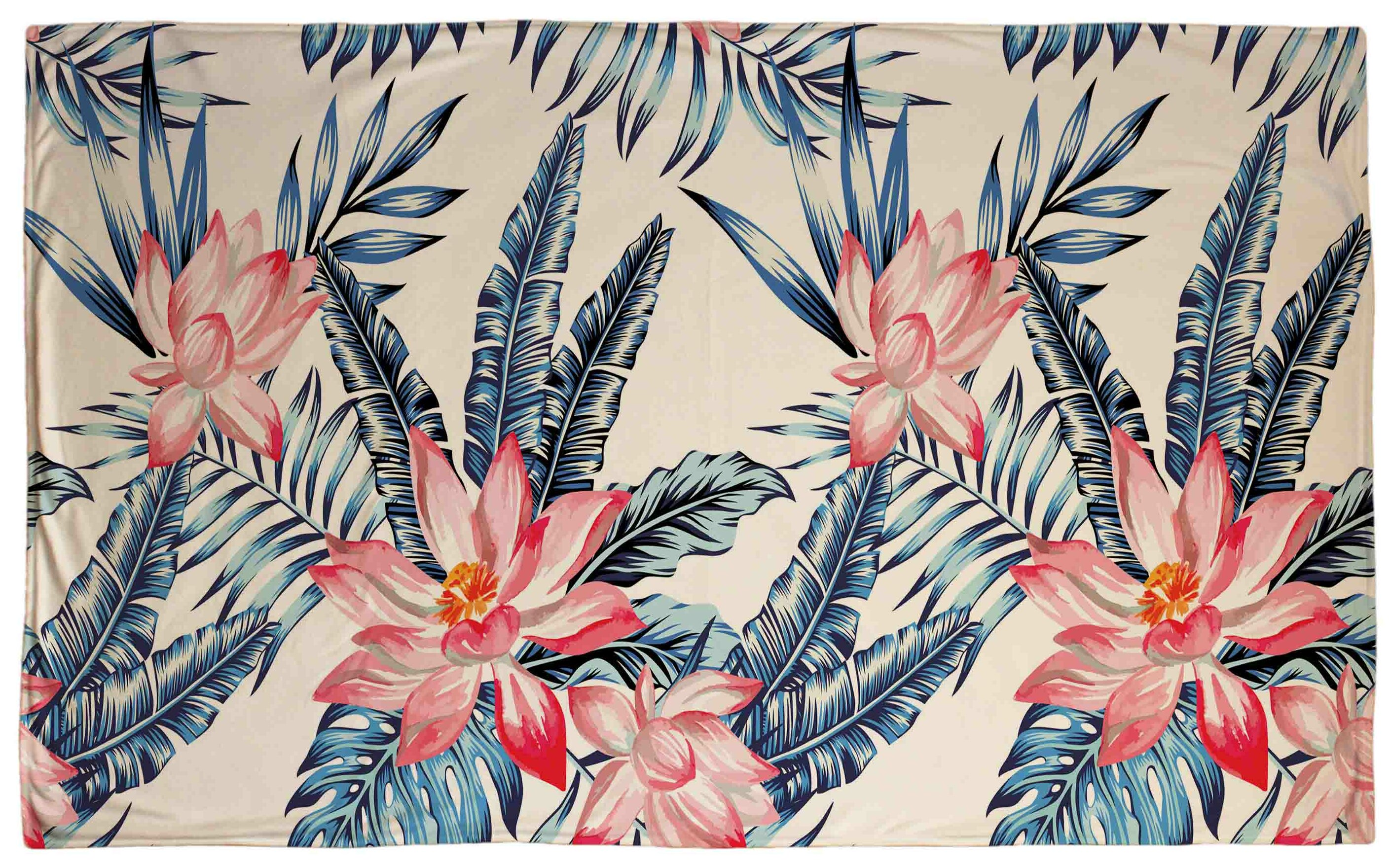 Bay Isle Home Ashburnham Tropic Fleece Blanket Wayfair