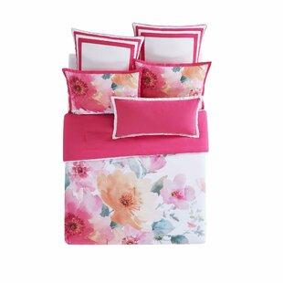 Bold Floral Reversible Comforter Set