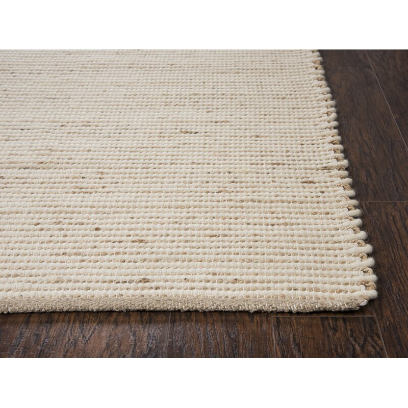 Highland Dunes Holler Hand Woven Wool Tan Area Rug Wayfair Ca