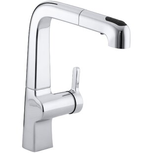 Kohler Evoke Single-Hole Kitchen Sink Faucet with 9