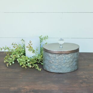 Round Ceiling Tile Jewelry Box By Foreside Home & Garden