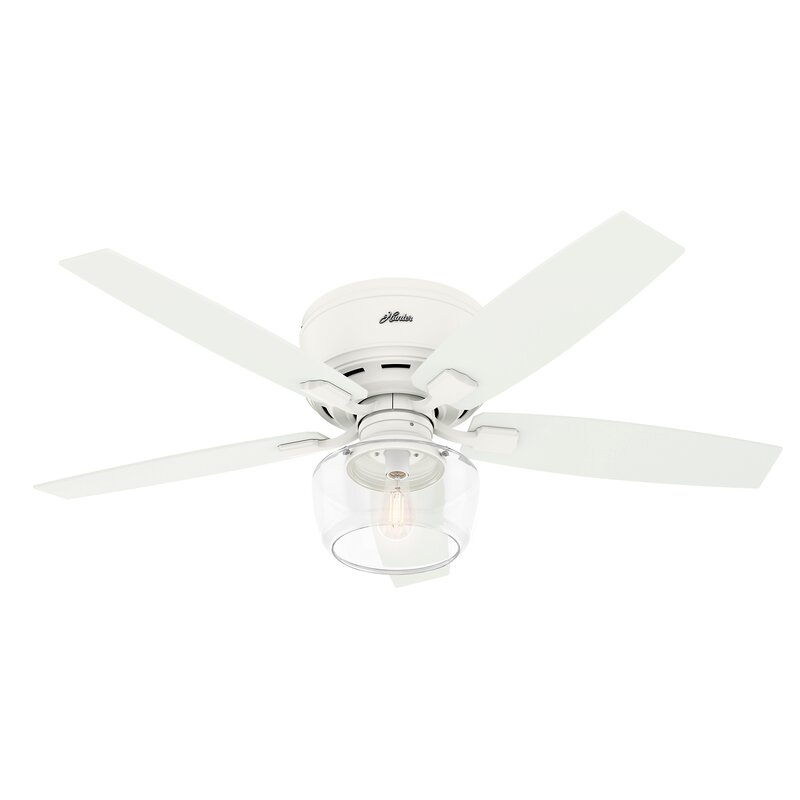 Blade Outdoor Flush Mount Ceiling Fan