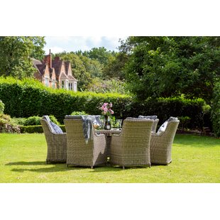 Swindon 6 Seater Dining Set With Cushions Image