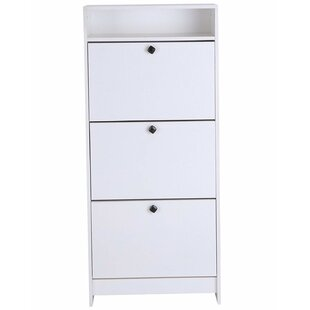 18 Pair Shoe Storage Cabinet By Mercury Row