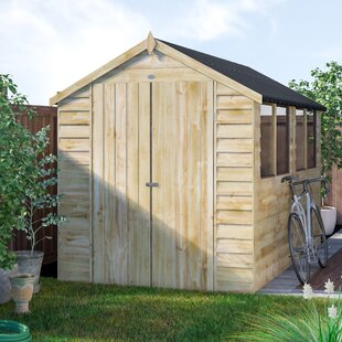 Other Structures & Shade 6x8 Shiplap Apex Garden Shed Workshop Storage Unit Single Door Styrene 6ft 8ft Fixing Prices According To Quality Of Products Garden Structures & Shade