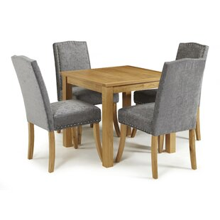 Connelly Dining Set With 4 Chairs By Ophelia & Co.