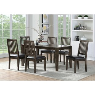 Iyanna 7 Piece Dining Set Millwood Pines