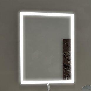 Aurora Illuminated Bathroom/Vanity Wall Mirror ByParis Mirror