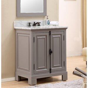 bathroom vanity with single sink.  Single Vanities You ll Love Wayfair