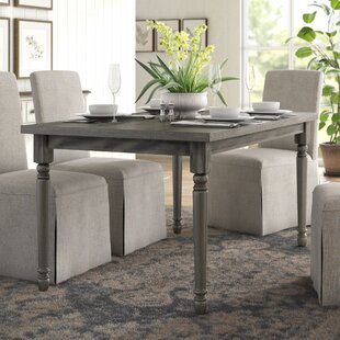 Parkland Rustic Dining Table by Lark Manor Find