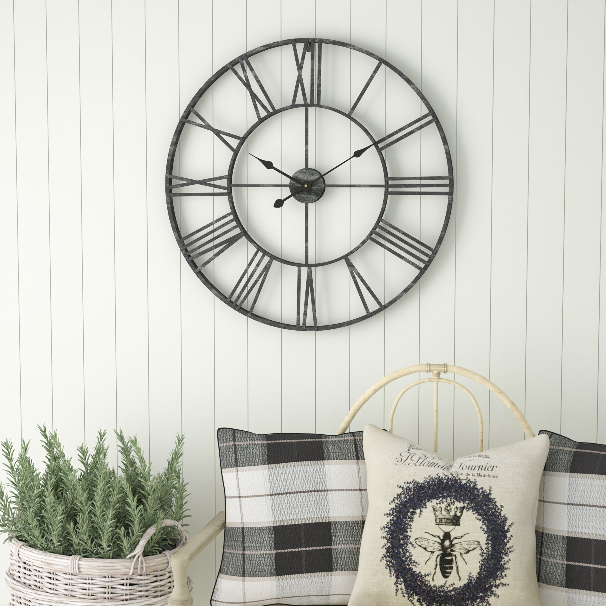Commercial Use Large Wall Clocks You Ll Love In 2021 Wayfair