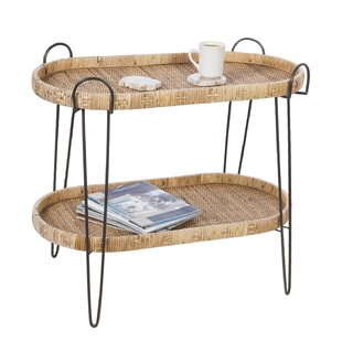 Tray Top End Table with Storage by Joss amp Main
