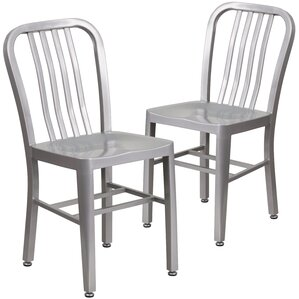 Belville Metal Side Chair (Set of 2) by Latitude Run