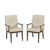 Mauricio 5 Piece Dining Set with Cushion by Longshore Tides