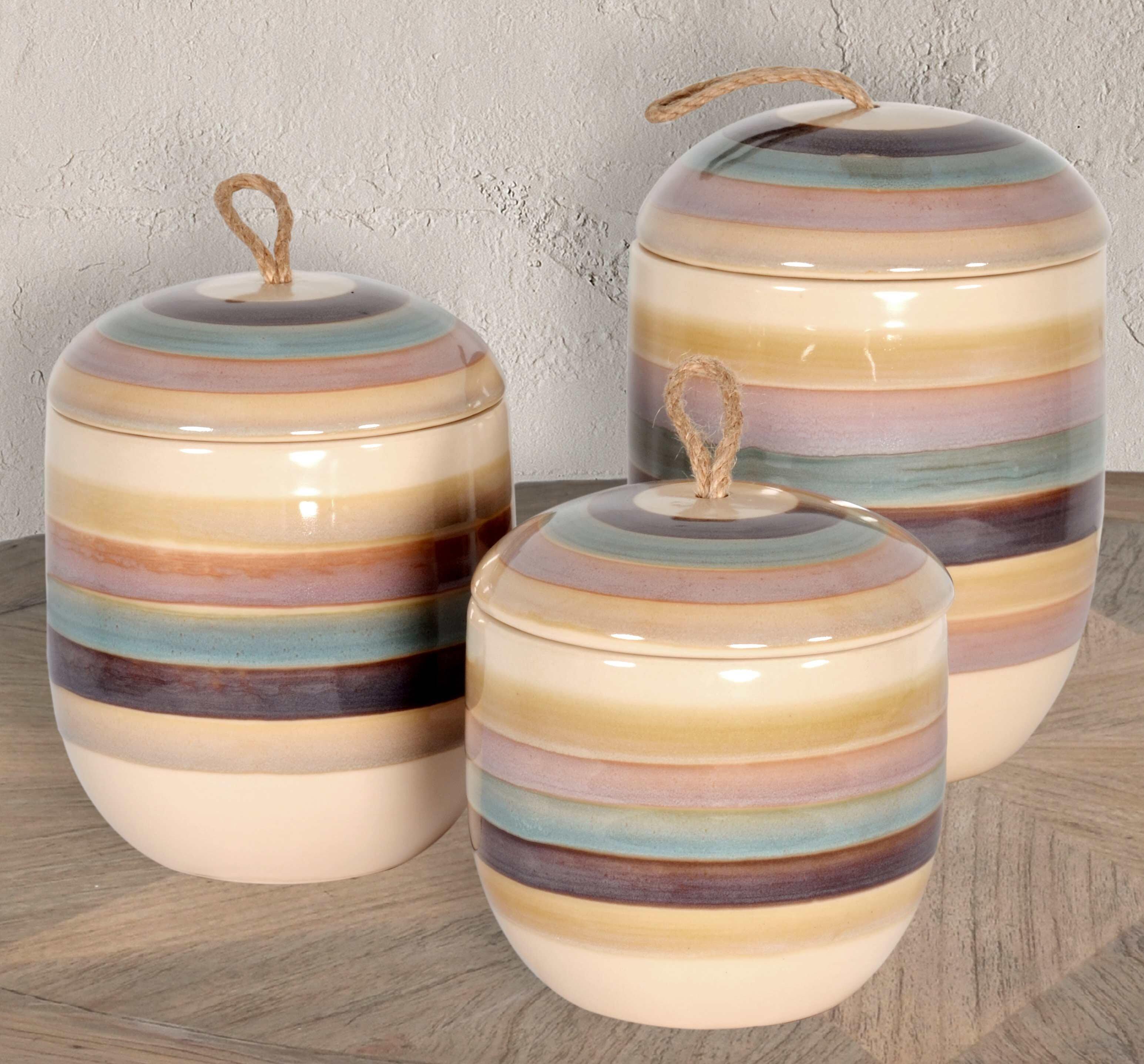 Blue Striped Vases Urns Jars Bottles You Ll Love In 2021 Wayfair