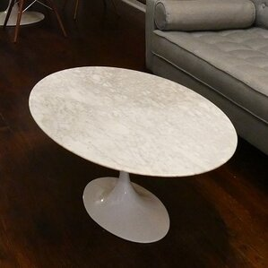 Tony Oval Coffee Table by Corrigan Studio