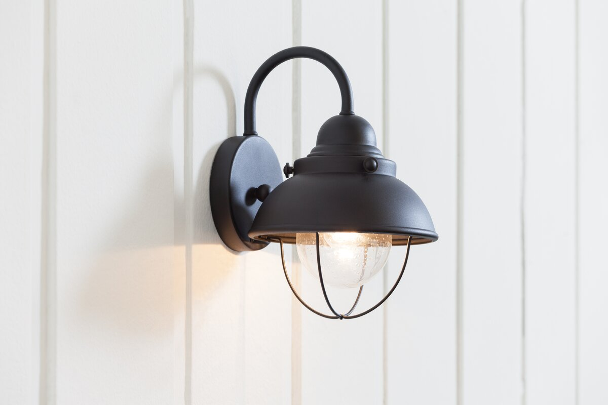wall light rustic sconce barn bronze products retro of shades
