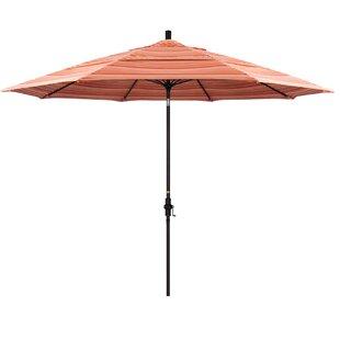 Muldoon 11' Market Sunbrella Umbrella by Beachcrest Home